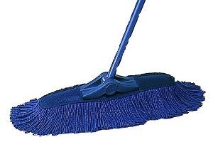 事業所用モップの中で一番人気! 軽い操作で隅々までお掃除できます。