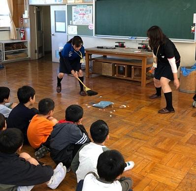 かりがね小学校 2019年11月15日
