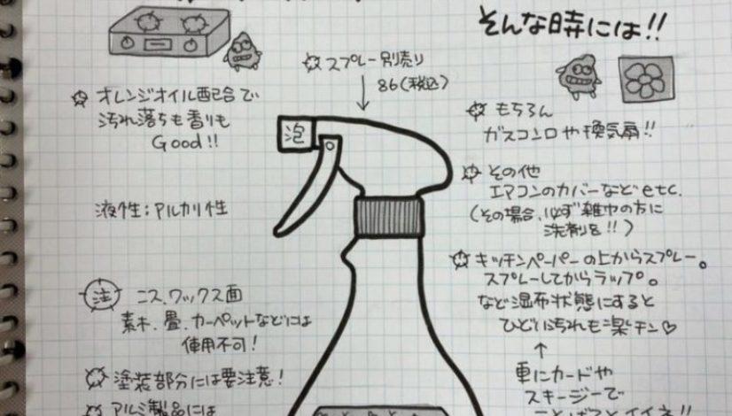 大掃除の準備 〜油汚れ用洗剤〜